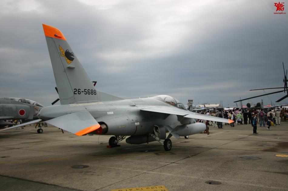 观日本战机菊花!实力不如中国