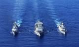 解放军海军军舰的另一面:带你看舰徽舰歌风采