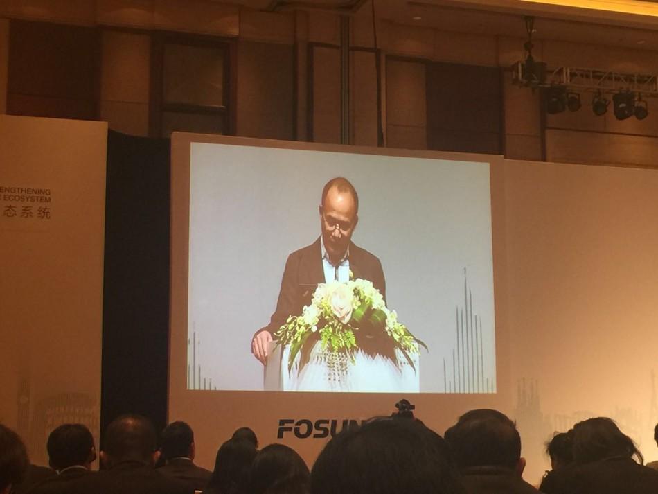 郭广昌出席复星年度工作会议