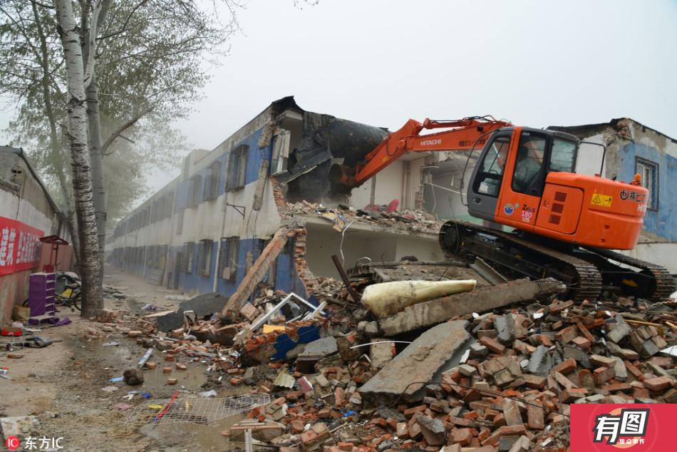 北京单体群租房违建被拆