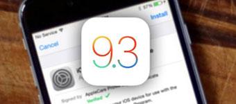苹果再发iOS 9.3 Beta 3