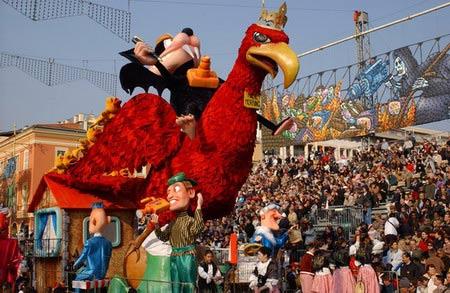 尼斯狂欢节:欧洲的春天从这里开始