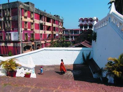印度果阿:嬉皮的天空