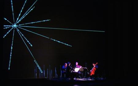 克罗诺斯弦乐四重奏组灵魂人物哈林顿专访