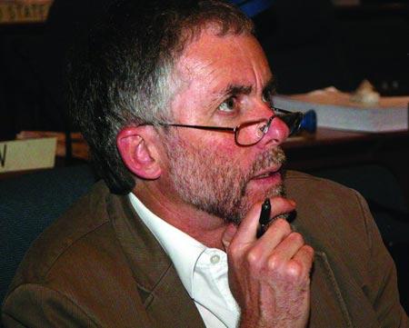 专访联合国气候变化专门委员会成员戴维・诺特