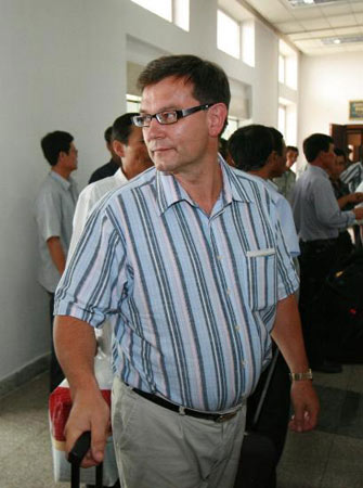 国际原子能机构第2批人员抵达朝鲜(图)