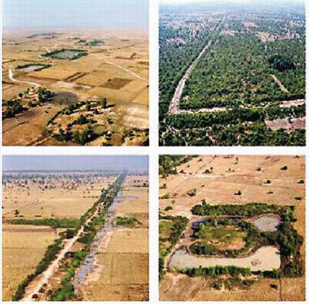 柬埔寨吴哥古迹发现中世纪最大古城遗址(图)