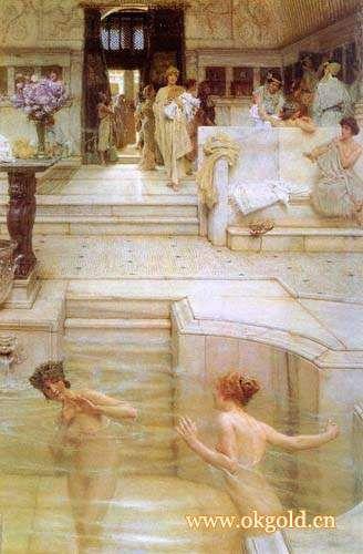 古罗马公共澡堂极豪华