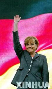 德国总理默克尔
