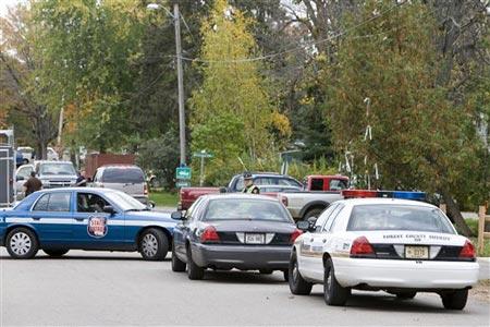 美国威斯康星州发生枪击案至少5人死亡(图)