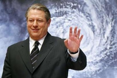 美国前副总统戈尔与IPCC分享诺贝尔和平奖