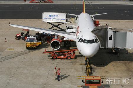 的A320空中客车飞机高清图片