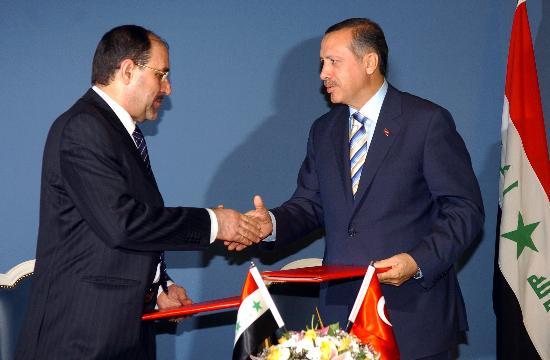 图文:土伊两国总理强调打击库尔德工人党武装
