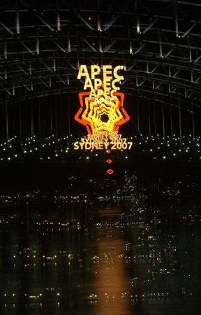 图文:澳大利亚悉尼海湾大桥