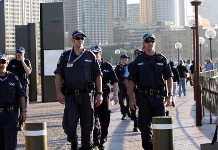 组图:澳大利亚加强警戒确保会议安全举行