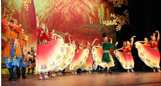 新疆歌舞团在瑞典演出 2