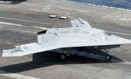 美军力推大型舰载无人机因忌惮中国?