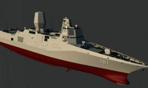 中国万吨大驱一身绝活 可担当驱护舰队智囊