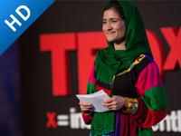 让阿富汗女孩接受教育的勇气