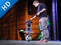 TED: 会跳舞的球形机器人