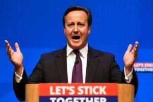 英首相卡梅伦要求小学生英语数学必须及格
