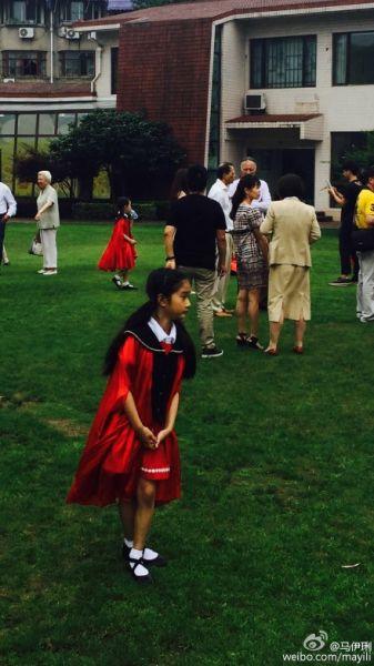 文爱马毕业于国际幼儿园