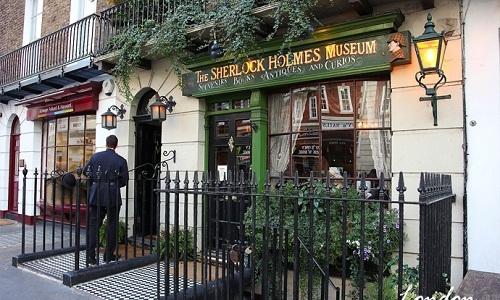 到伦敦查探大侦探福尔摩斯的家