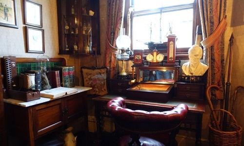 大侦探福尔摩斯的卧室竟然不足10平米(图)