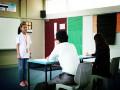 活动花絮:双语演讲比赛正在进行中