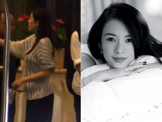章子怡已怀孕六个月?