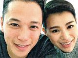 胡杏儿与男友庆生订婚
