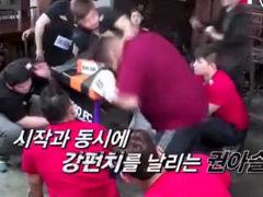 韩真人秀节目中国人遭