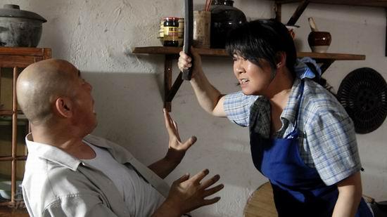 资料图片:电视剧《笑着活下去》精彩剧照(3)
