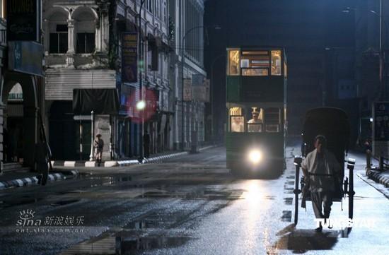 资料图片:《色,戒》剧照--公共汽车