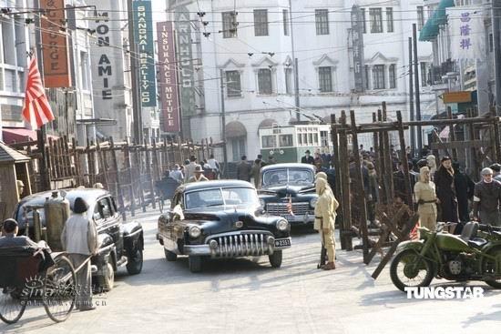 资料图片:《色,戒》剧照--日军占领下的上海