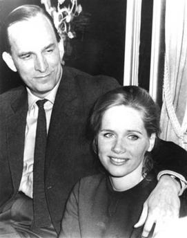 资料图片:1968年英格玛-伯格曼与丽芙-乌曼