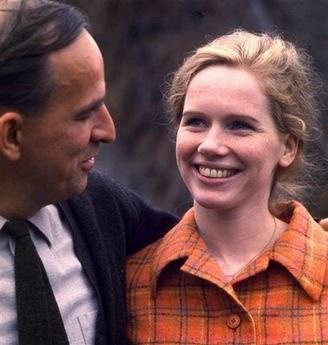 资料图片:1967年英格玛-伯格曼与丽芙-乌曼