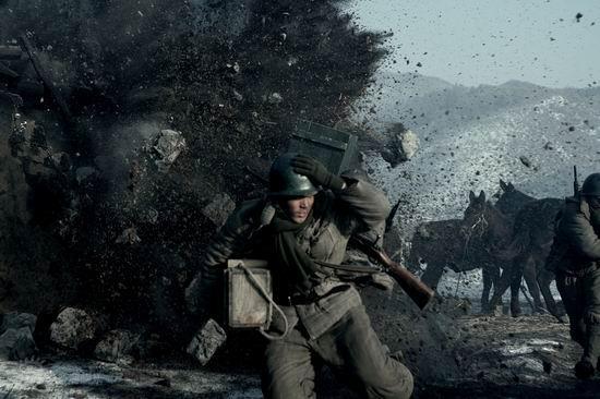 资料图片:《集结号》剧照-爆破场面