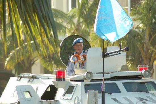 资料图片:《中国维和警察》精彩剧照(7)