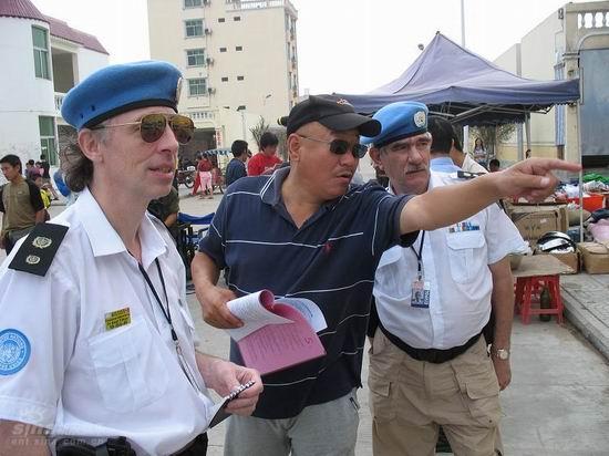 资料图片:《中国维和警察》精彩剧照(11)