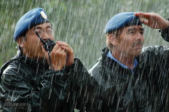 资料图片:《中国维和警察》精彩剧照(18)