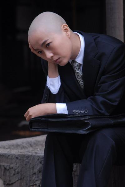 资料图片:电视剧《光头美女》精彩剧照第二批