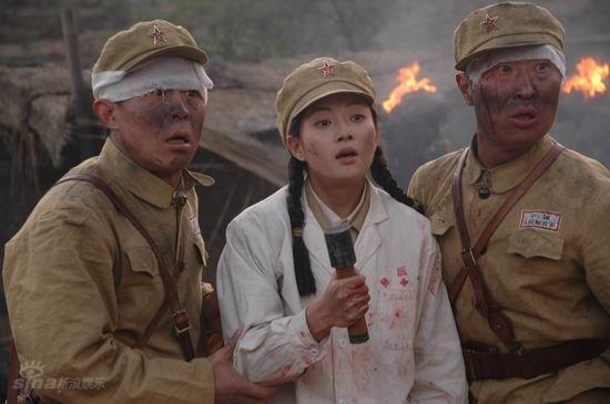 资料图片:军旅电视连续剧《高地》精彩剧照(37)