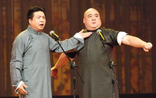 侯耀文郭德纲西安演出众笑星齐聚大舞台