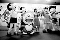 哆啦A梦主题乐园8月开放机器猫家族集体亮相