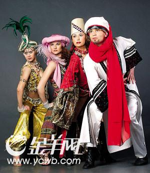 《舞夜鸡尾酒》即将登录羊城跨界时尚五色炫目