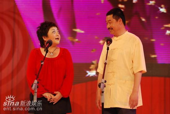 图文:《笑傲江湖》总决赛-叮当、刘桦合作默契
