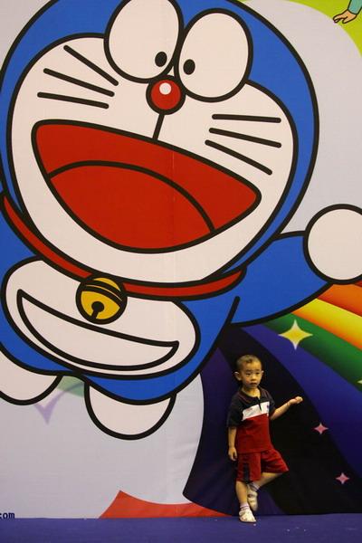 哆啦A梦主题乐园亮相上海8月将移师北京(组图)