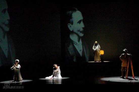 图文:舞台剧《敦煌》首演--演出现场