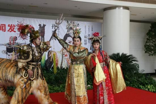 台湾《剑神吕洞宾》即将献演上海艺术节(组图)